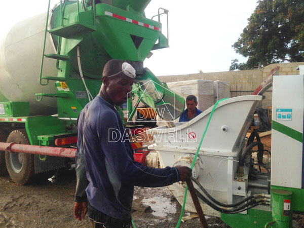 wide application of concrete truck sale