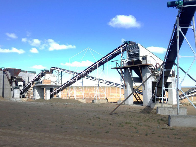 wide application of crushing plant