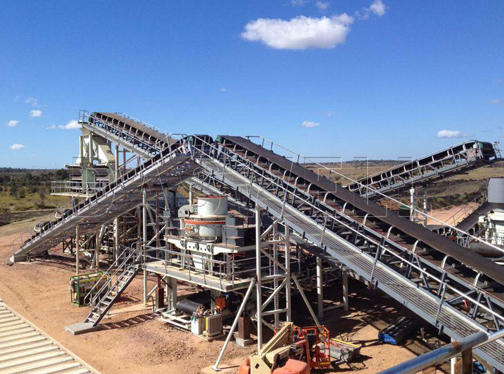 Daswell crushing plant for sale