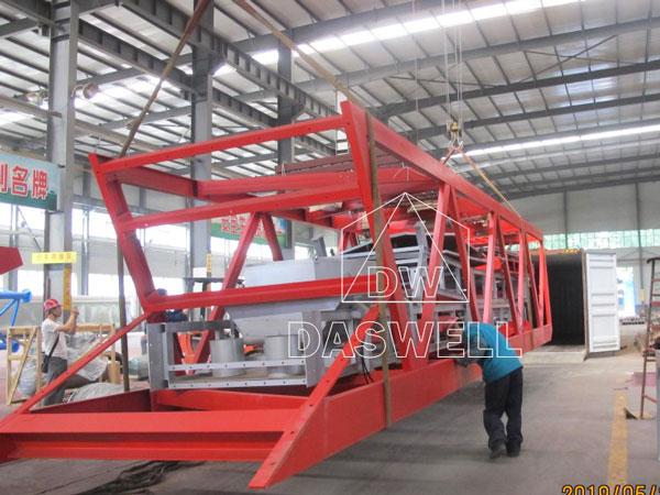 YHZS100 mobile batch mix plant thailand