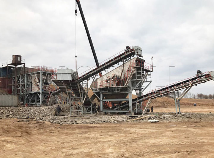 application of crushing equipment for sale