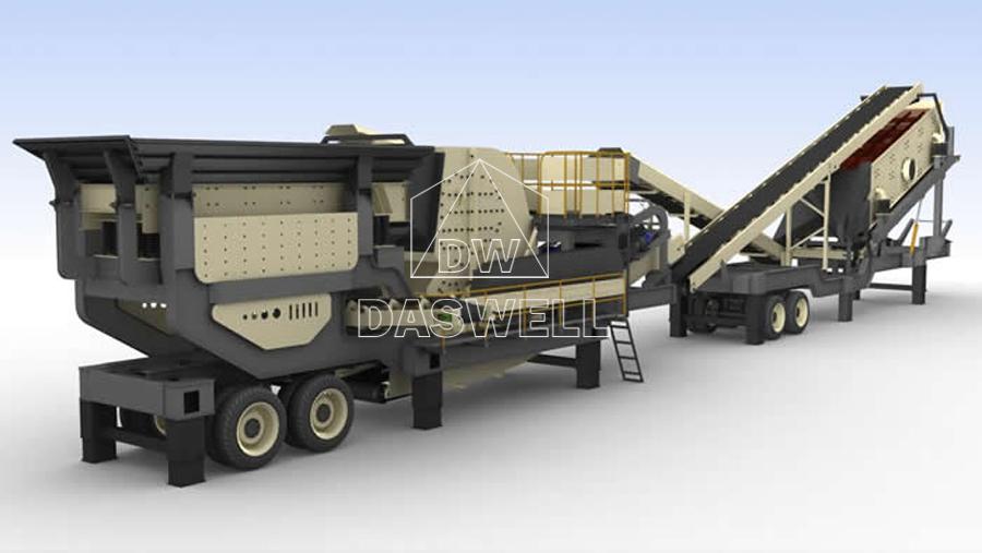 mobile crusher machine