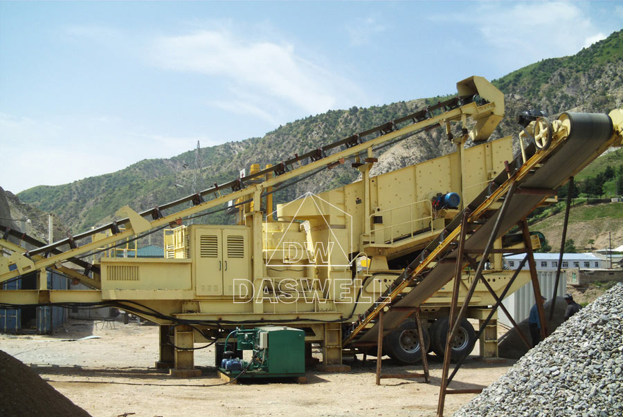 daswell mobile crusher machine sale