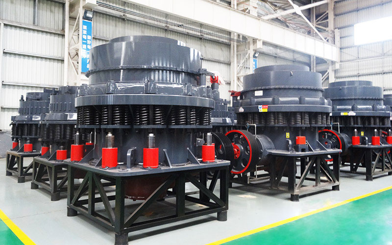 different cone crushers