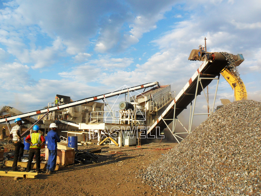 use of daswell crushing plant