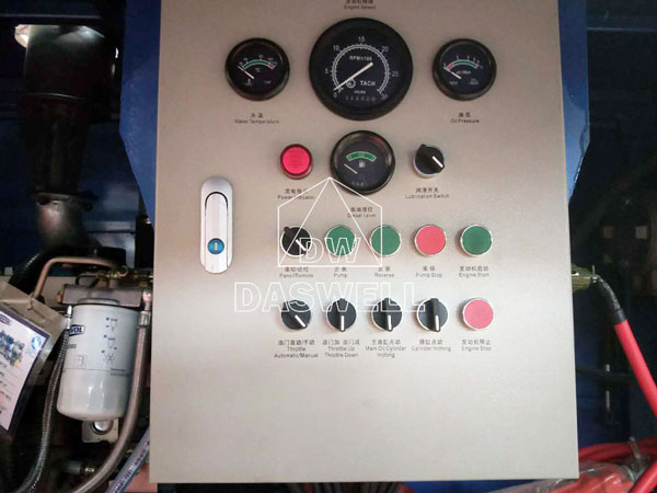CPD40 stationary pump machine to Vanuatu