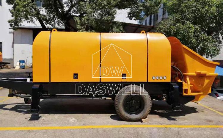 CPD90 portable concrete line pump
