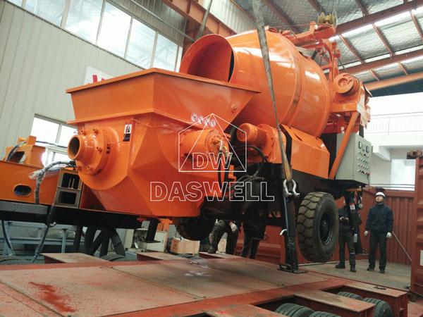 HBT30 portable mixer pump Vietnam