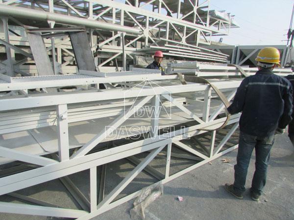 HZS180 concrete manufacturing plant