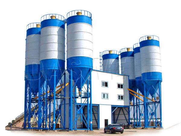 HZS240 concrete plant sale