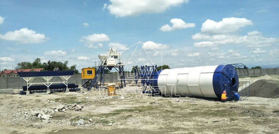 HZS25 concrete plant for sale