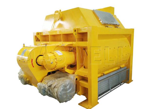 JS1500 twin shaft paddle mixer of concrete plant