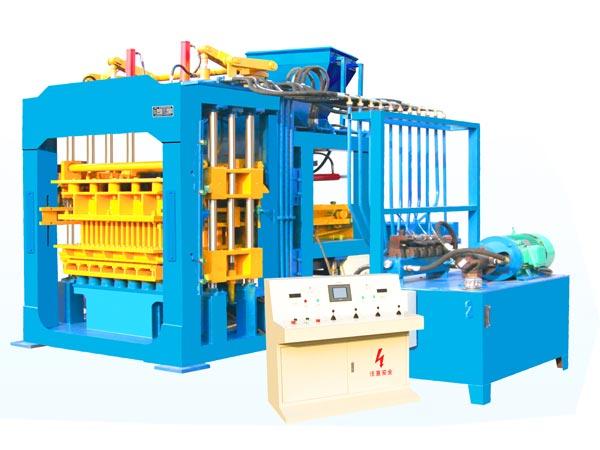QT12-15 concrete block production plant