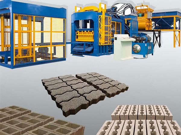 QT12-15 fly ash brick production machine
