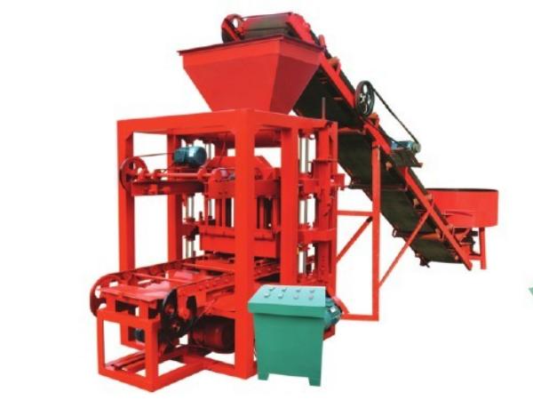 QTJ4-26D concrete brick block plant
