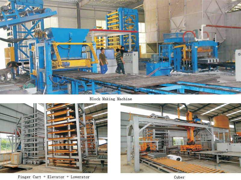 complete fly ash brick production line