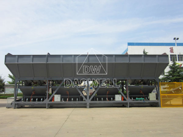 daswell concrete plant producing factory