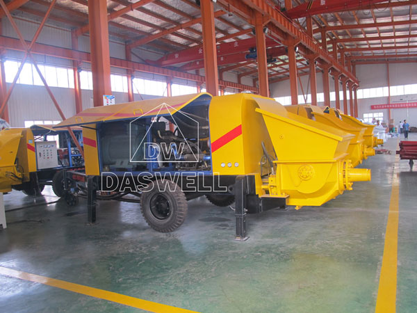 produce static concrete pump