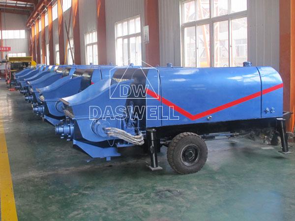 production workshop of station pump