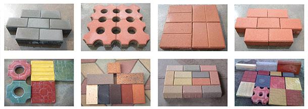 the concrete bricks sample