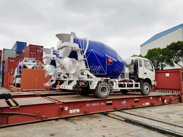 DW-4 ready mixed truck