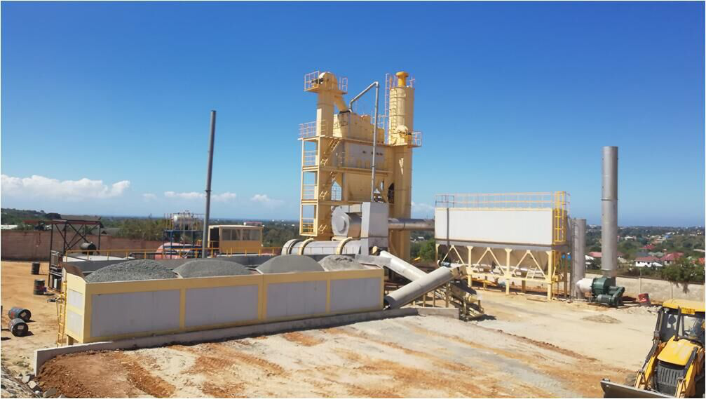 LB1500 asphalt batch mix plant