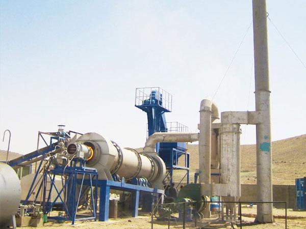 MADP60 asphalt batch mix plant
