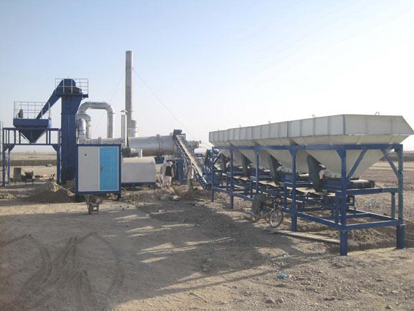 MADP60 asphalt drum mixing plant