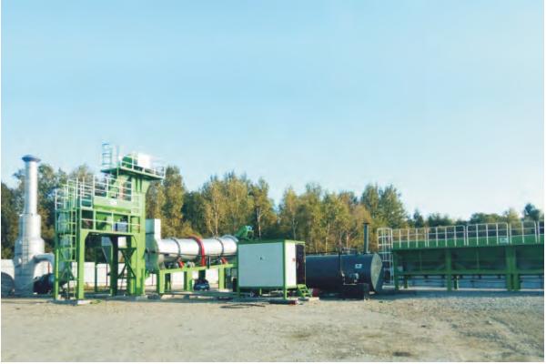 MADP80 drum continuous plant