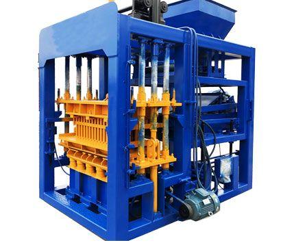QT4-15 cement block manufacturing plant