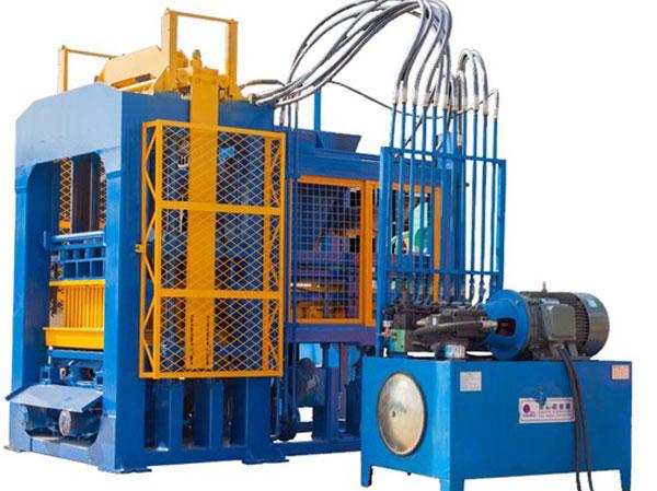 QT5-15 cement block production machine