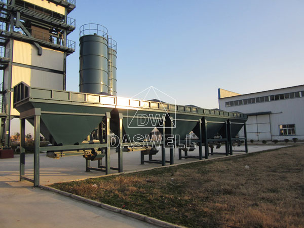 component of asphalt mixing plant
