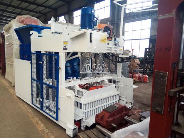 india transport cement brick machine