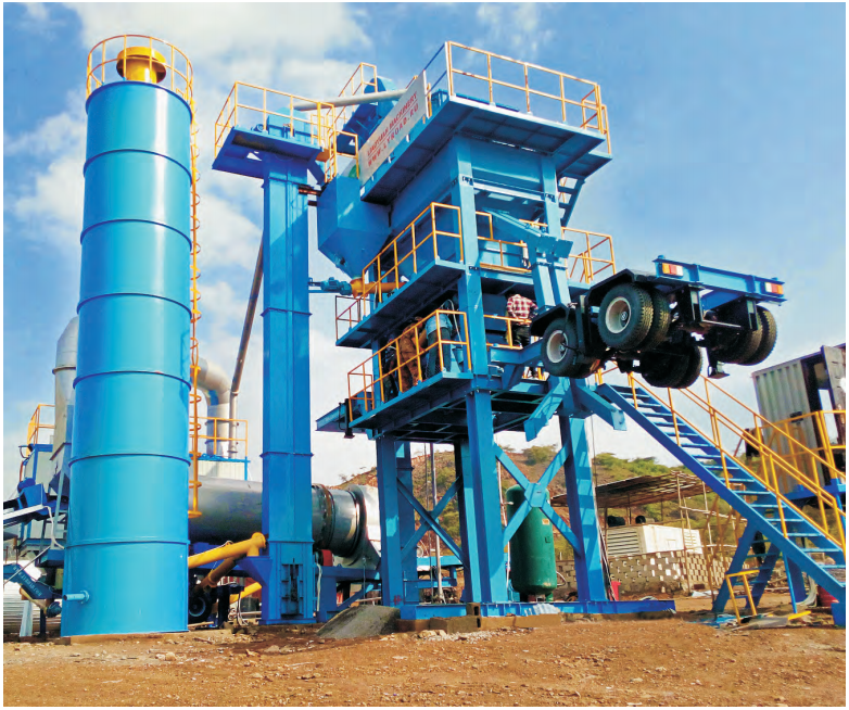 the MAPY series forced mix type plant
