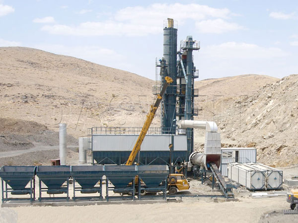 the SAP3000 forced mix type plant