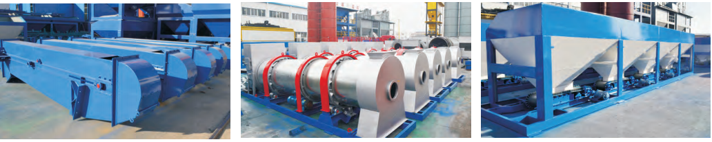 the components of drum plant
