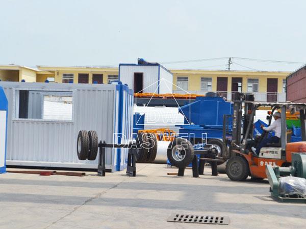 transport mixing plant