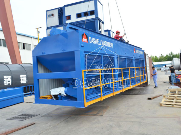 transport the batching machine of plant