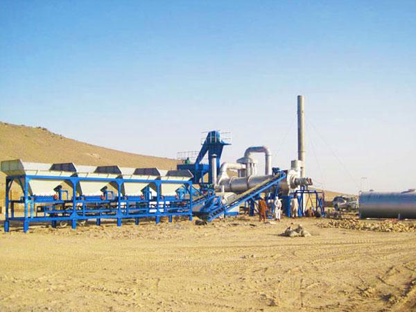 MADP60 mobile asphalt batching plant