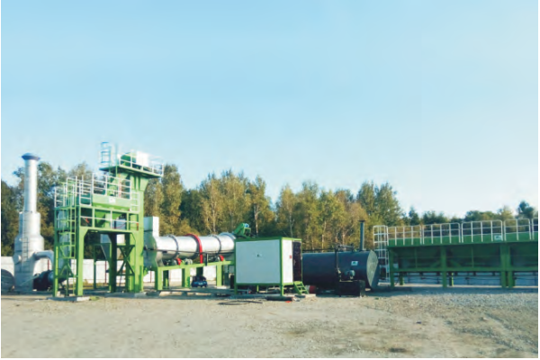 MADP80 mobile hot mix plant