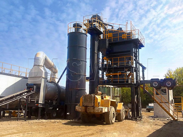 MAPY1500 forced mix mobile plant