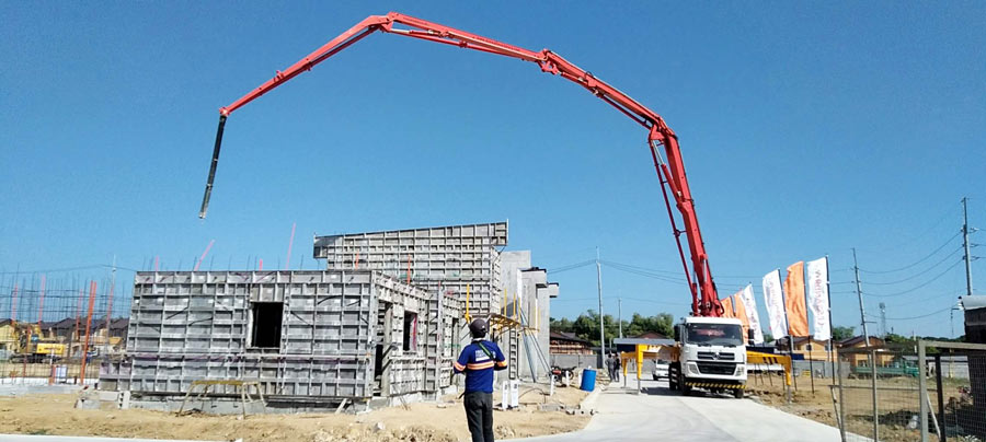 33m concrete pump equipment