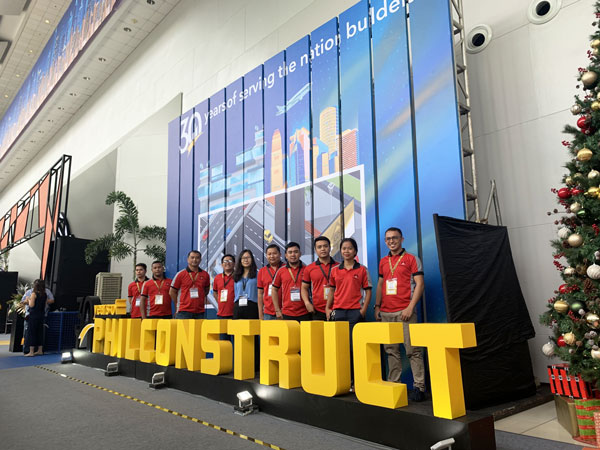 daswell philippines team in exhibition