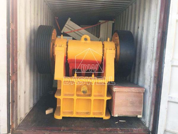 the daswell jaw crushing equipment