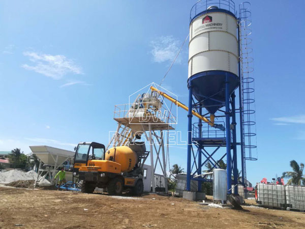 HZS25 mixing plant