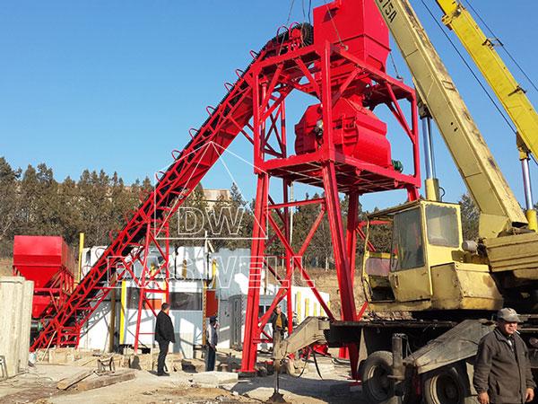 HZS60 plant work in Romania