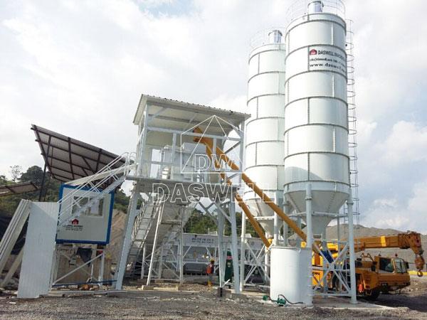 HZS90 batching plant for sale Ecuador