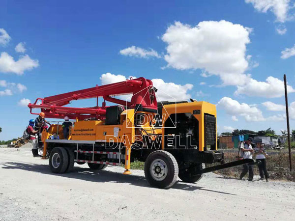 21m pumpcrete machine