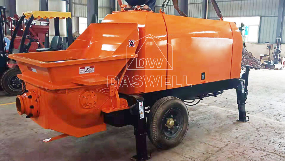 CPD30 small trailer pumping machine
