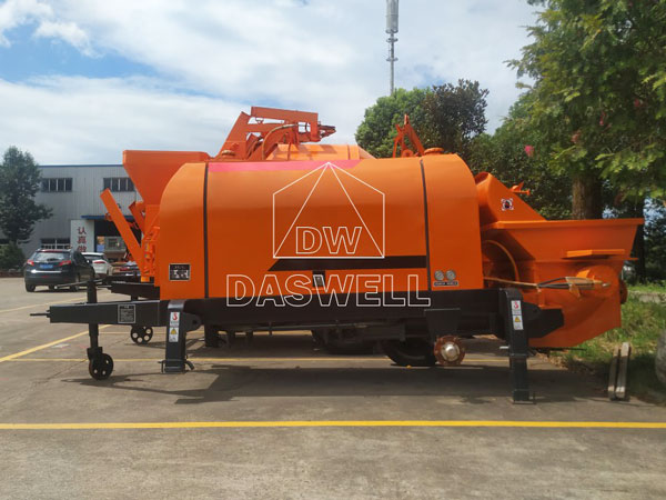 CPD30 trailer pumping machine